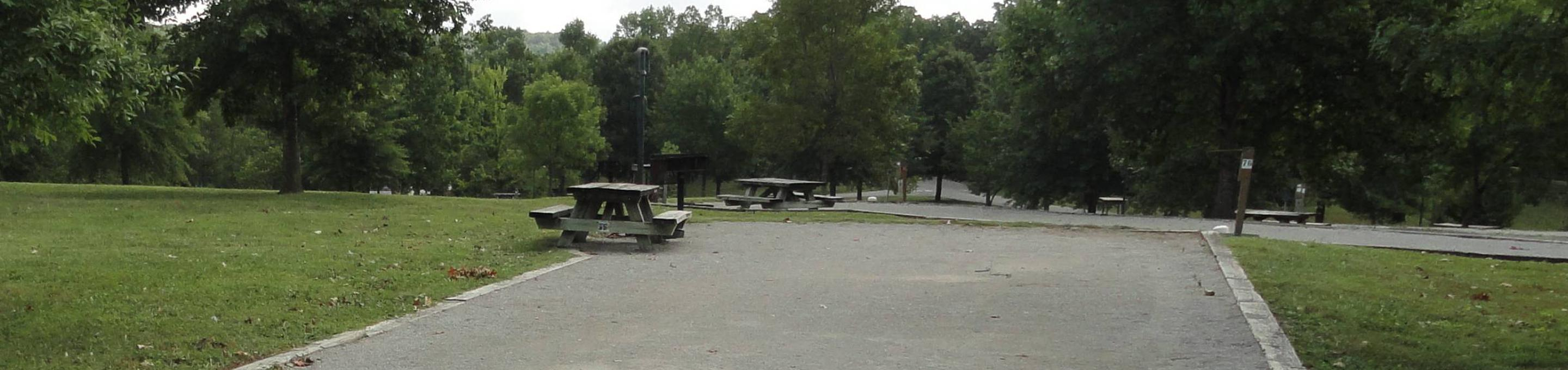 WILLOW GROVE CAMPGROUND SITE #76