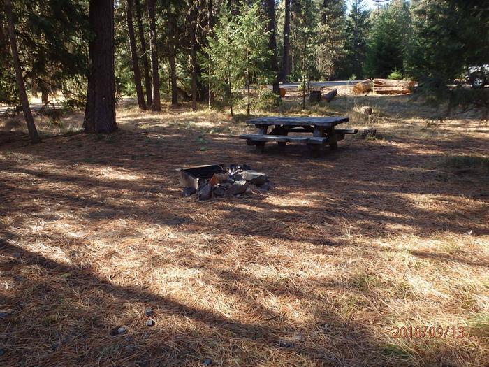 Kaner FlatNice site with plenty of shade