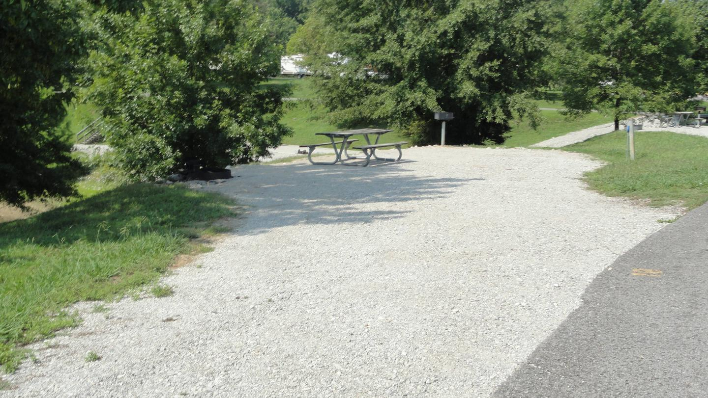 LILLYDALE CAMPGROUND SITE # 18