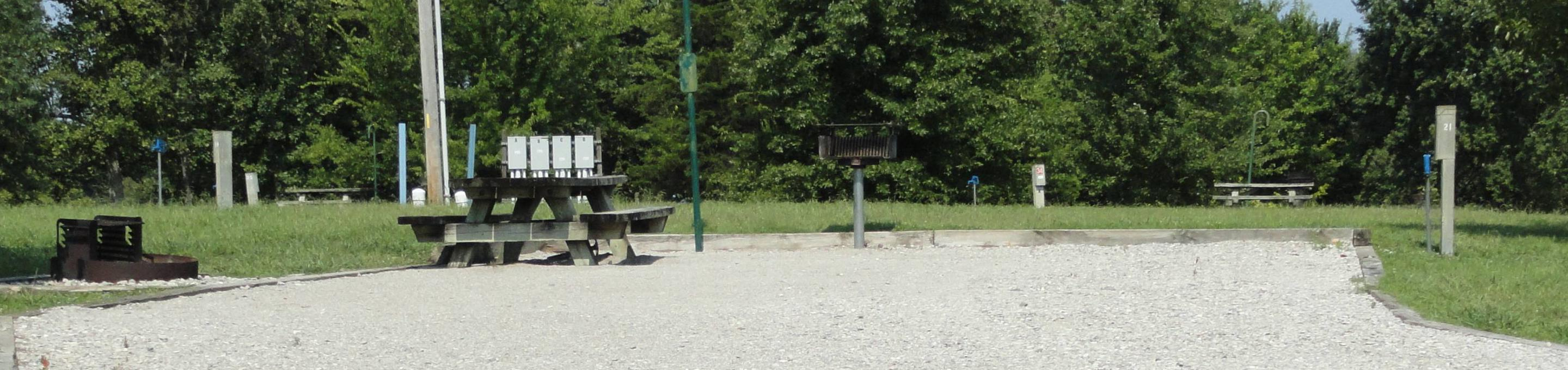 LILLYDALE CAMPGROUND SITE # 21