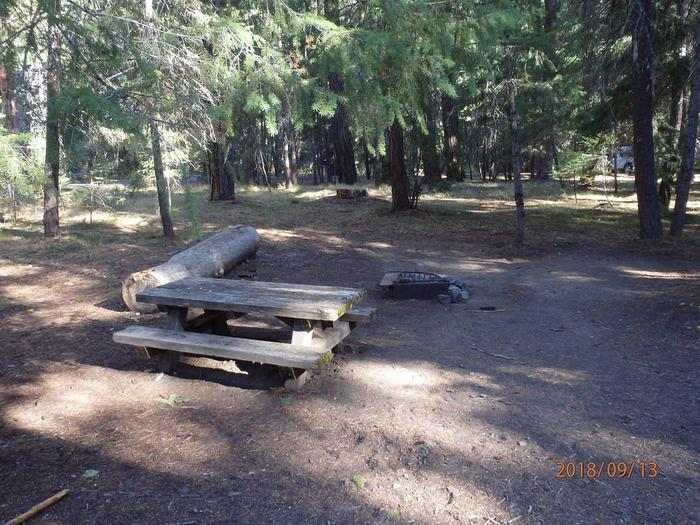 Kaner Flatopen site with ample tent space