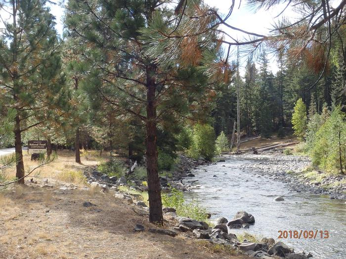 Kaner FlatAccess to the Little Naches River