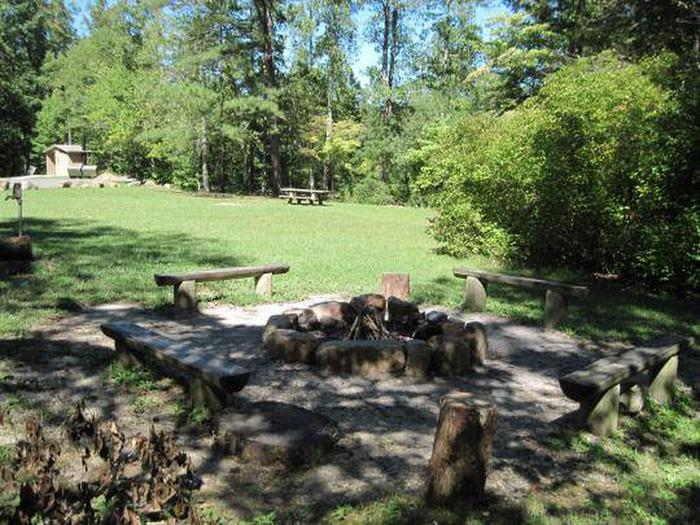 Fire Ring & Upper Camping Area