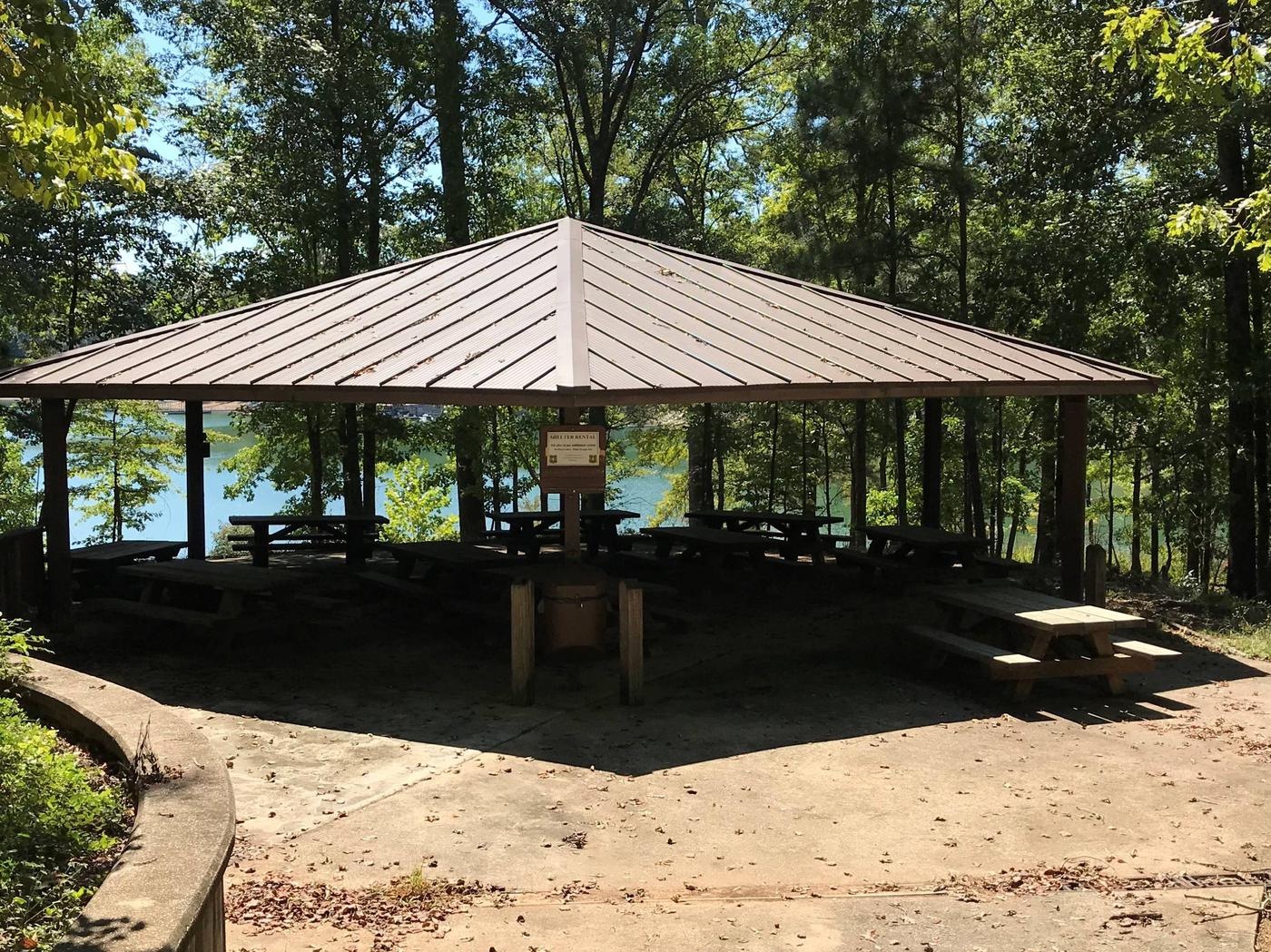 Houston Recreation Area Group Shelter