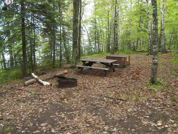 Oak Island site 4 campsite