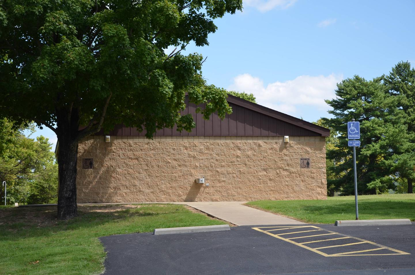 MILL CREEK (MISSOURI)Main Shower House and Restrooms