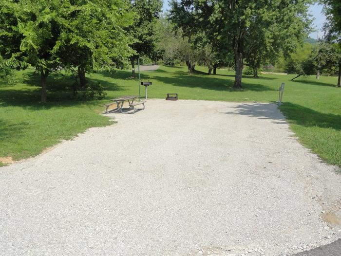 LILLYDALE CAMPGROUND SITE # 40