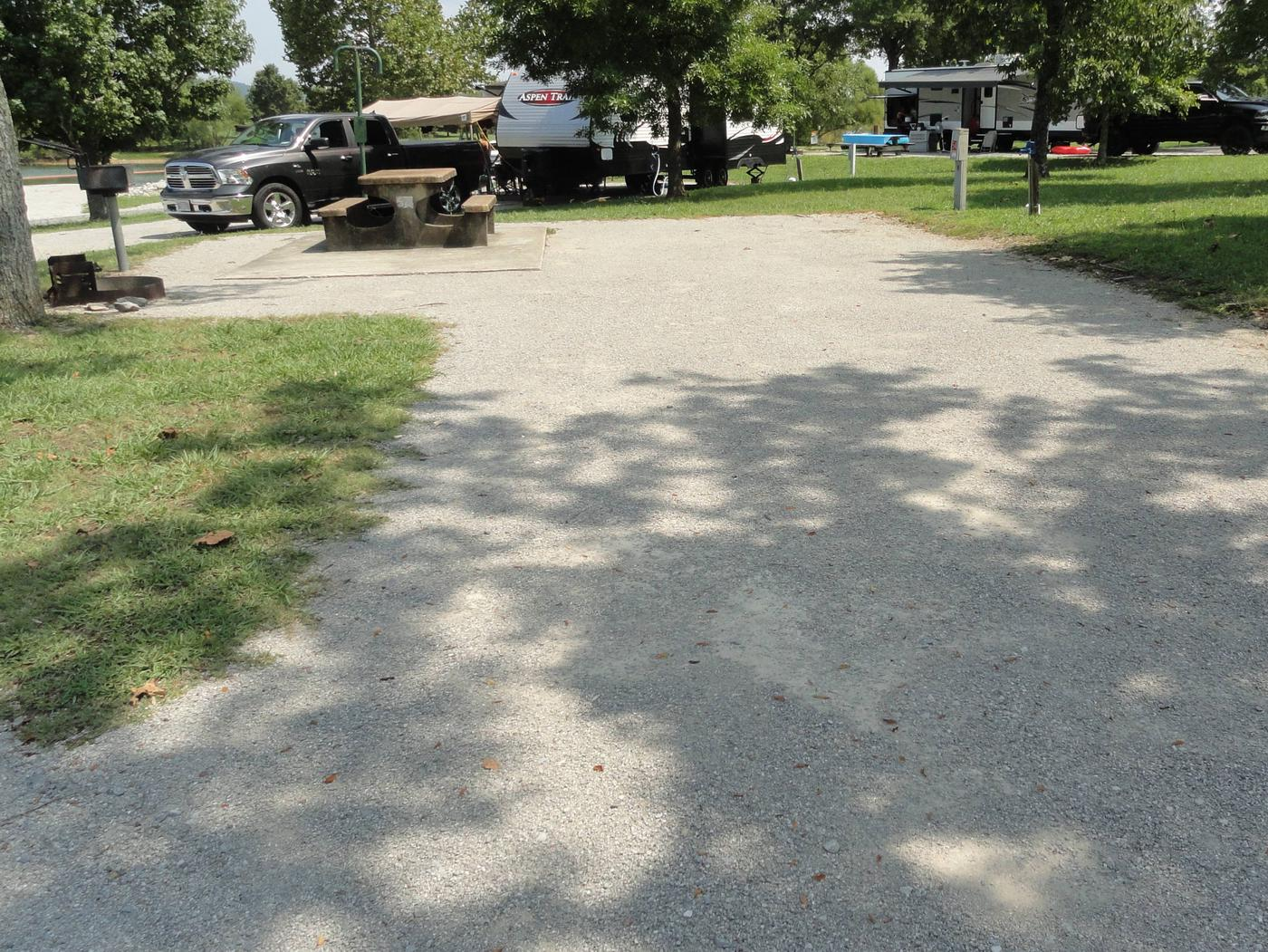 LILLYDALE CAMPGROUND SITE # 54