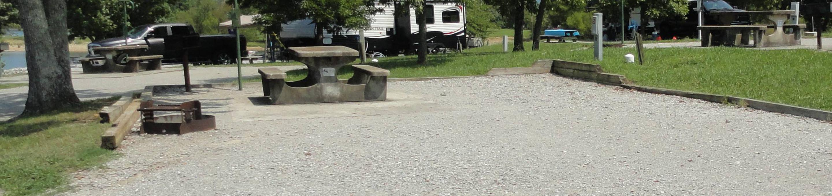 LILLYDALE CAMPGROUND SITE # 57