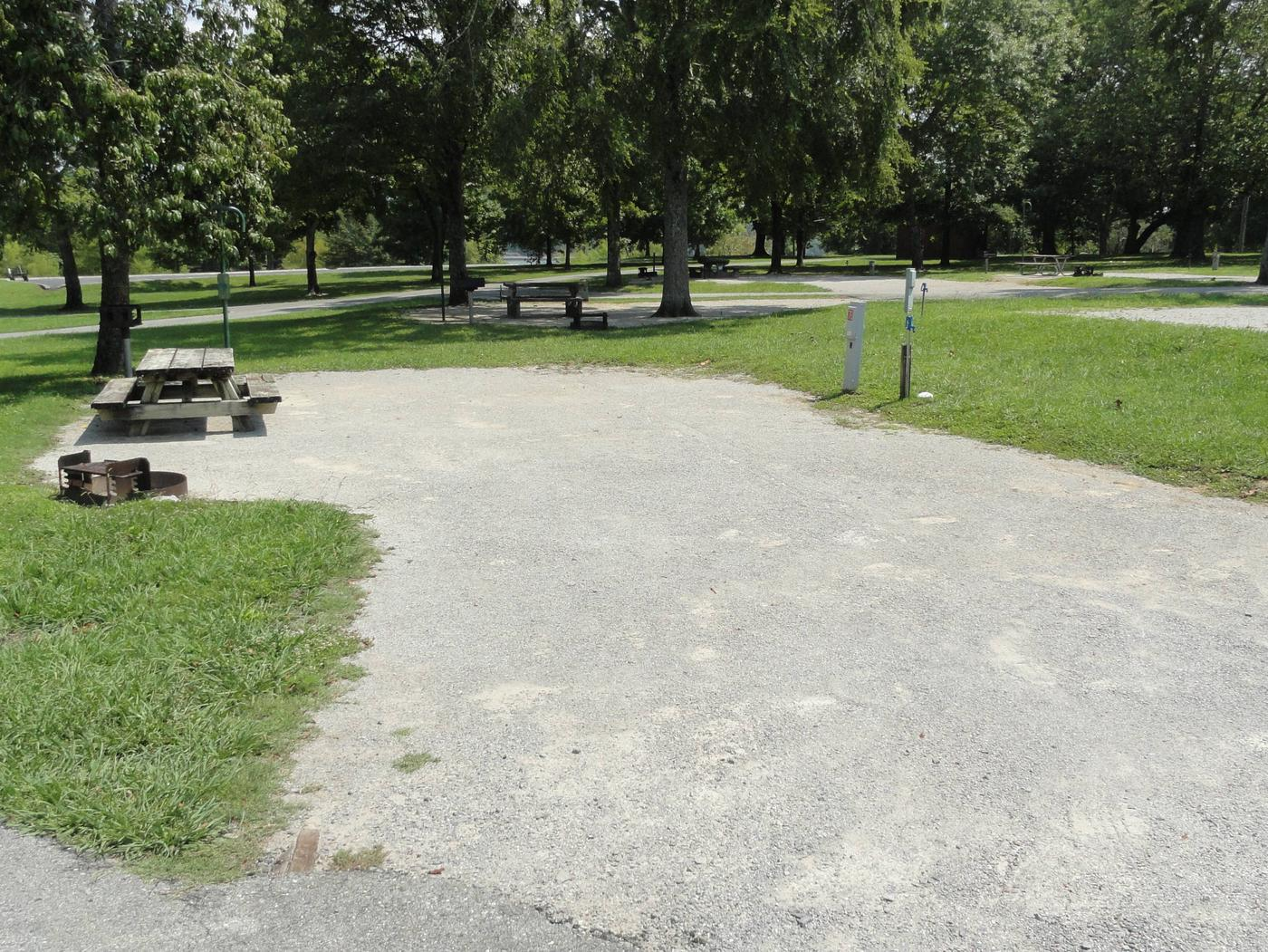 LILLYDALE CAMPGROUND SITE # 76