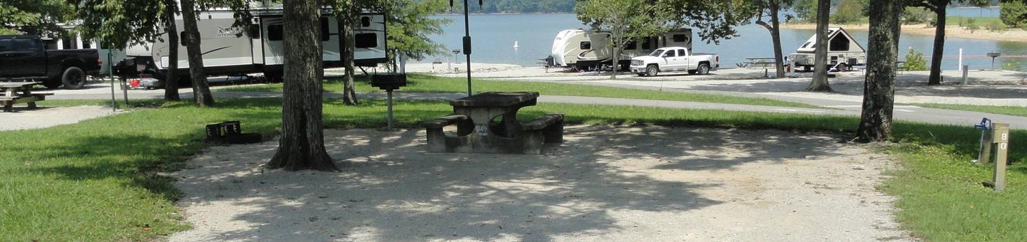 LILLYDALE CAMPGROUND SITE # 80