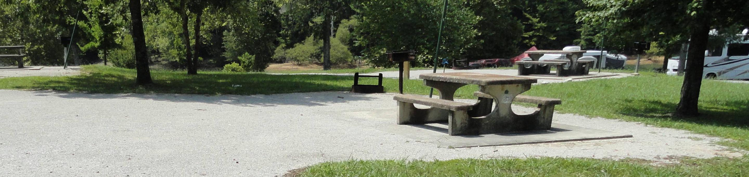 LILLYDALE CAMPGROUND SITE # 83