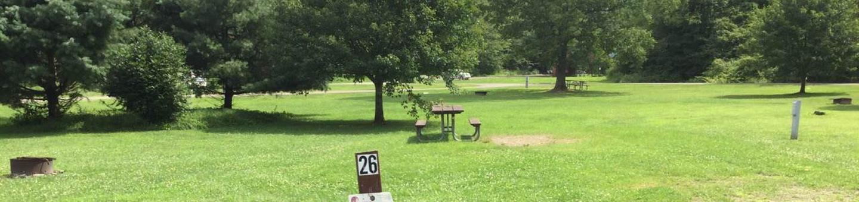 Willow Bay Recreation Area: Campsite: 26