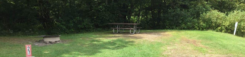 Willow Bay Recreation Area: Campsite: 27