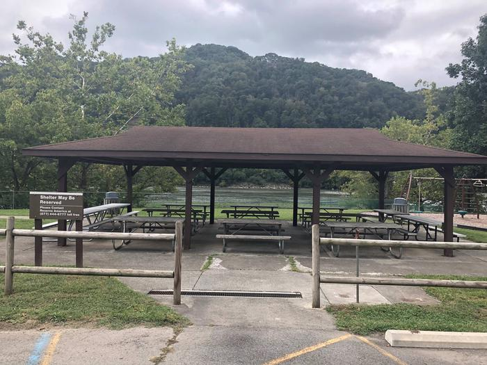 Preview photo of Bluestone Lake Picnic Shelter