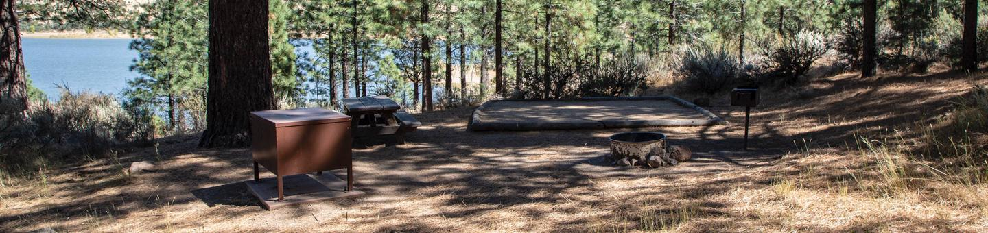 Indian Creek Campground Site #1