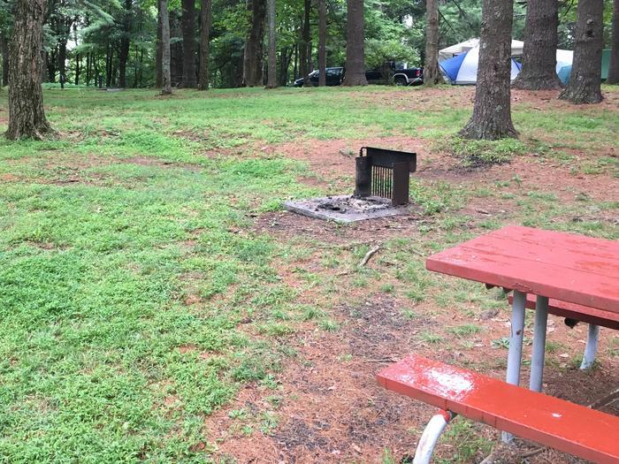 C Loop Site 17 - Tent Nonelectric
