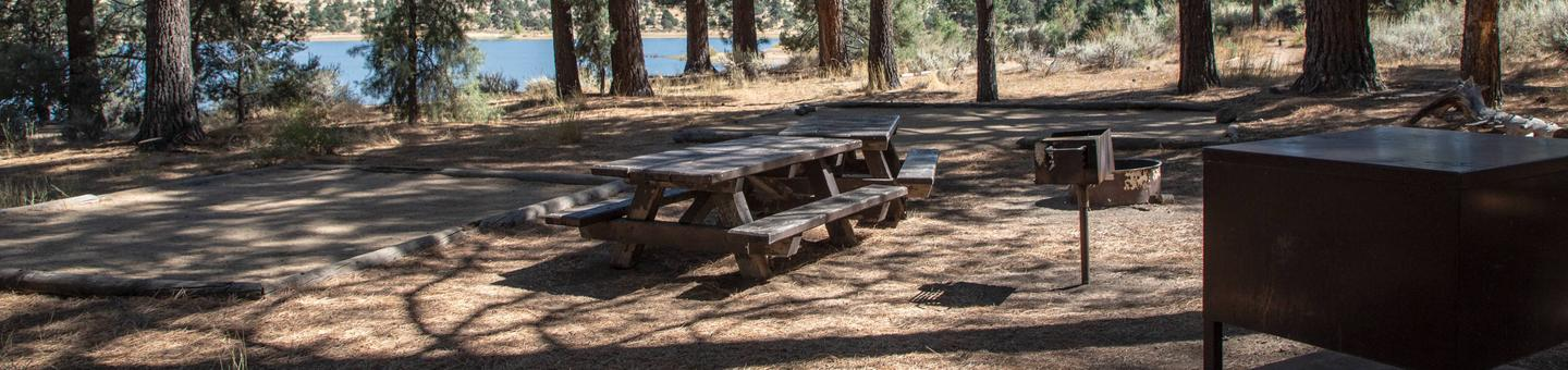 Indian Creek Campground Site #4
