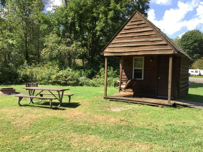 Willow Bay Recreation Area: Campsite 42