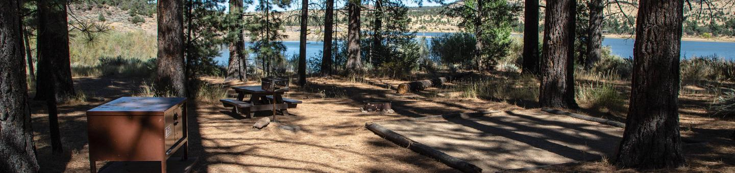 Indian Creek Campground Site #6