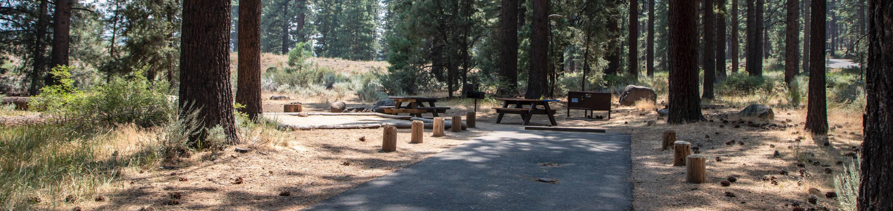 Indian Creek Campground Site #11
