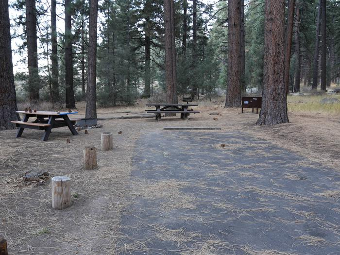Indian Creek Campground Site #12