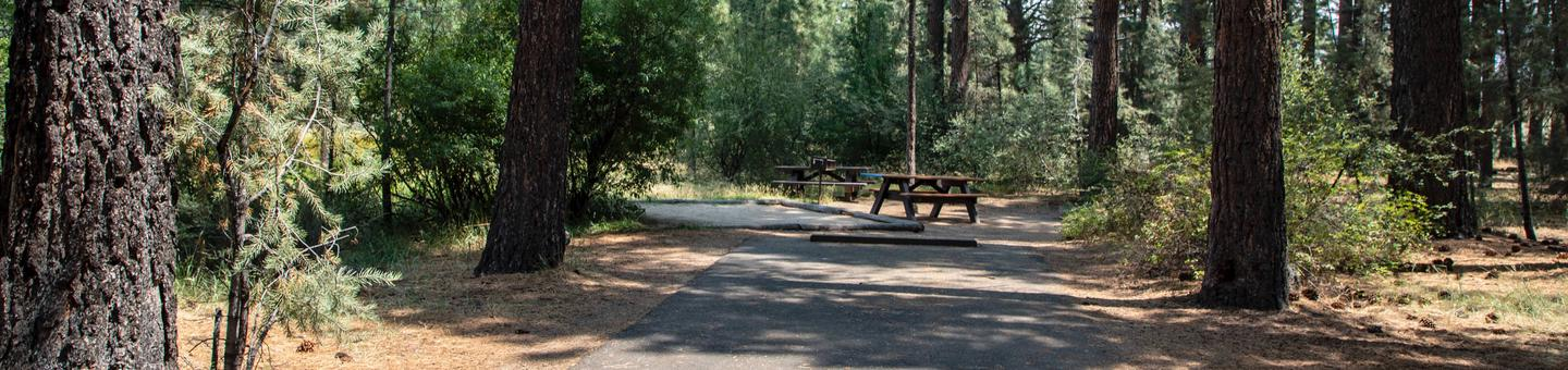 Indian Creek Campground Site #15