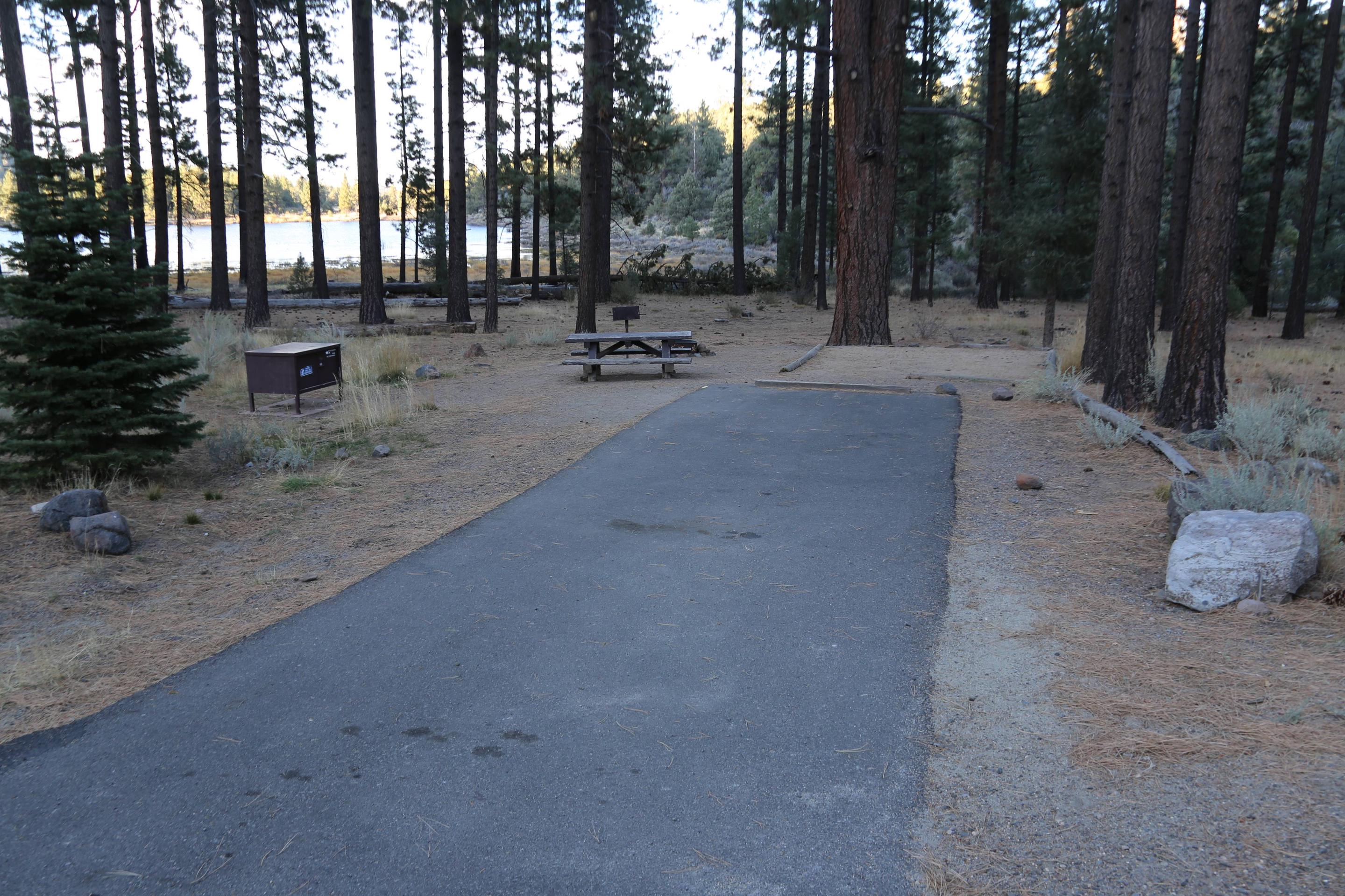 Indian Creek Campground Site #20