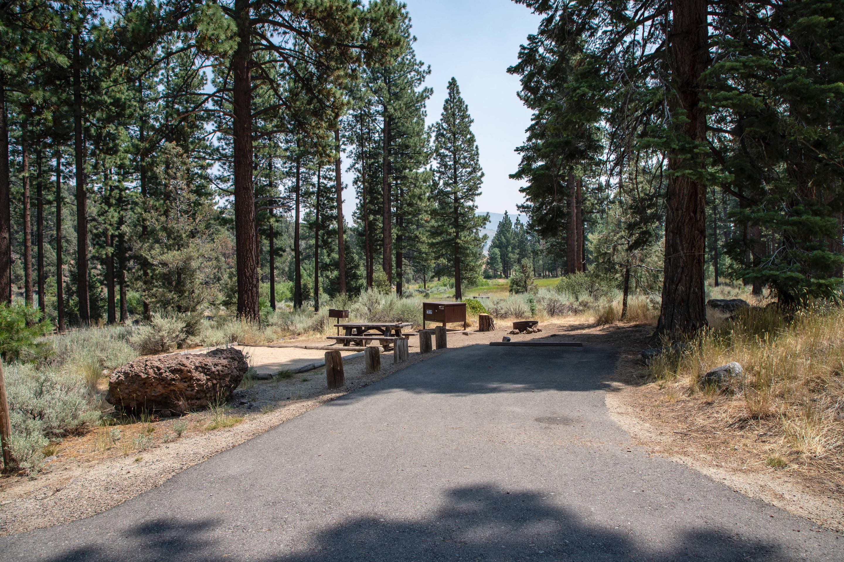 Indian Creek Campground Site #21