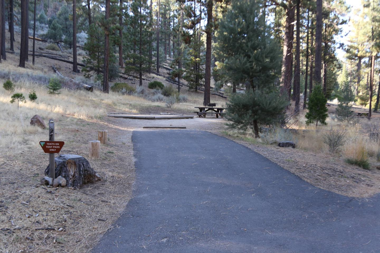 Indian Creek Campground Site #27