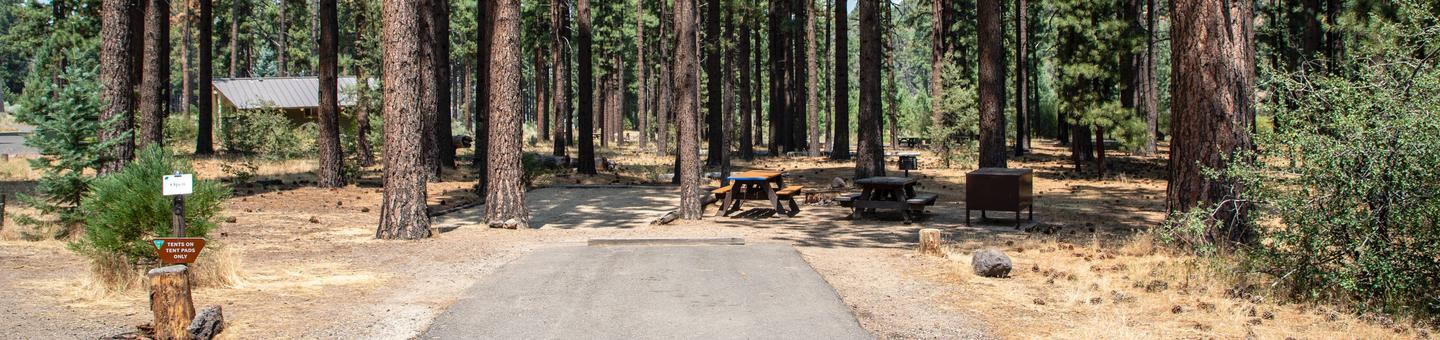Indian Creek Campground Site #28