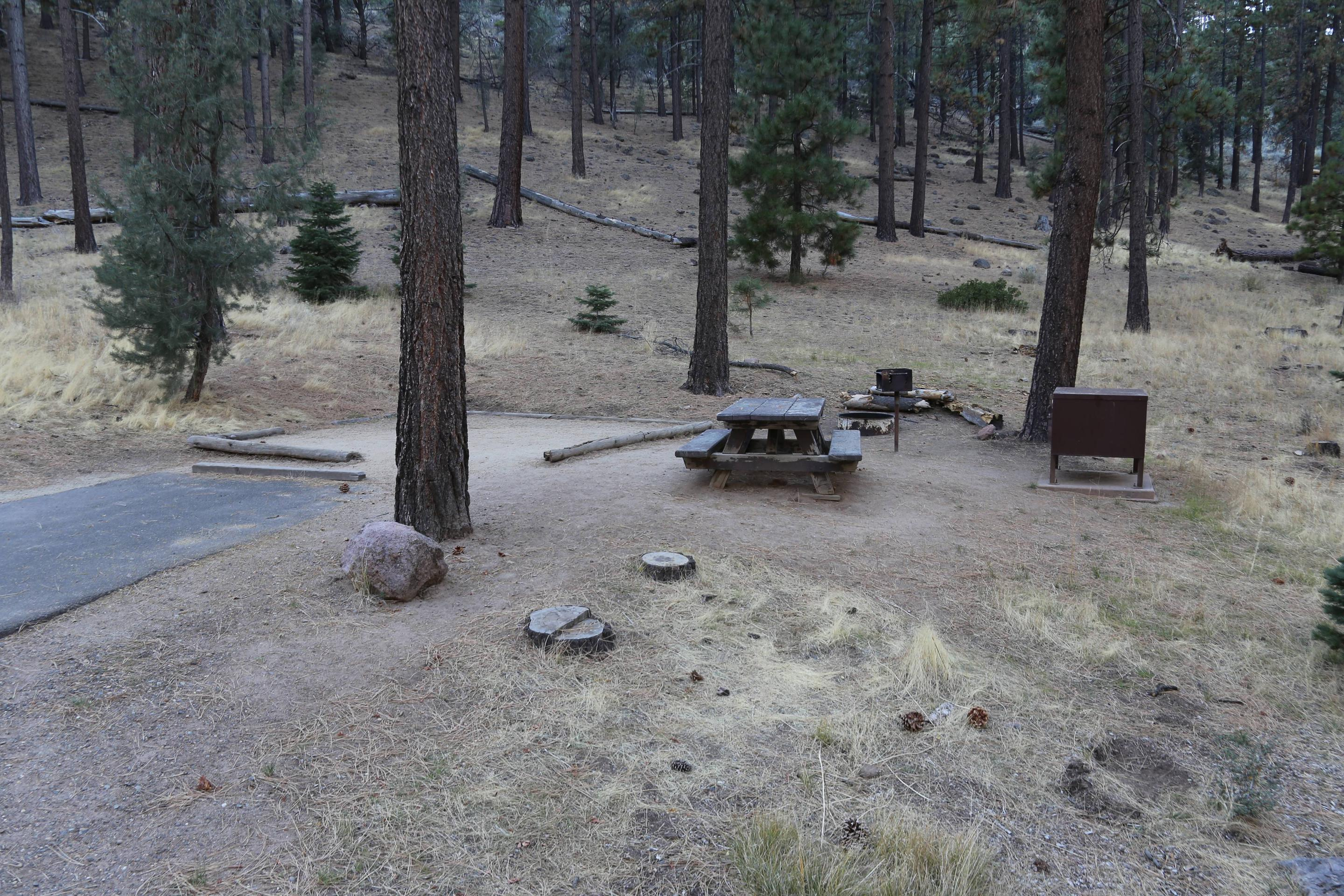 Indian Creek Campground Site #29