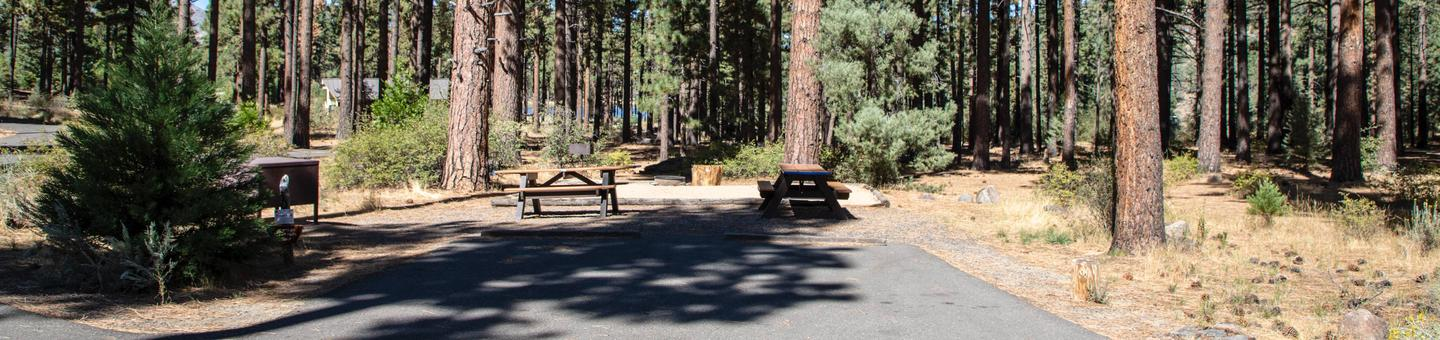 Indian Creek Campground Site #30