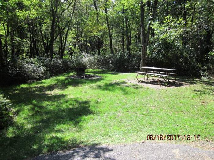 Loft Mountain Campground - Site F172Site F172