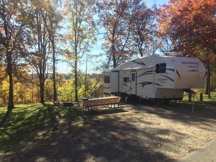 5th Wheel Camper5th Wheel Campsite