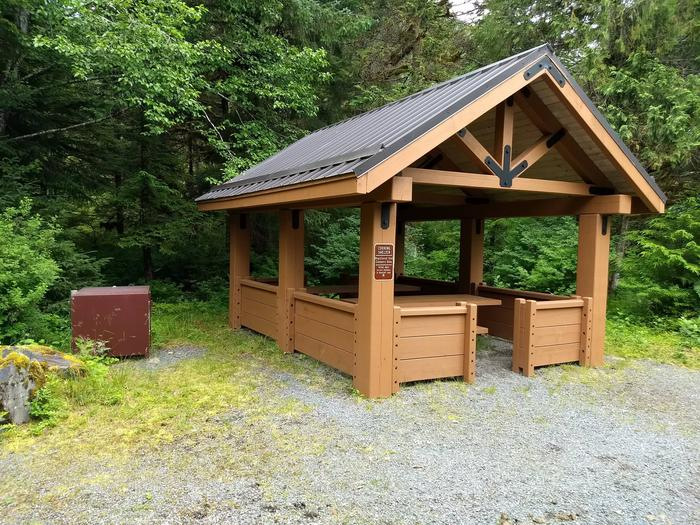 Food Cooking Shelter Available For Campsites 27-32