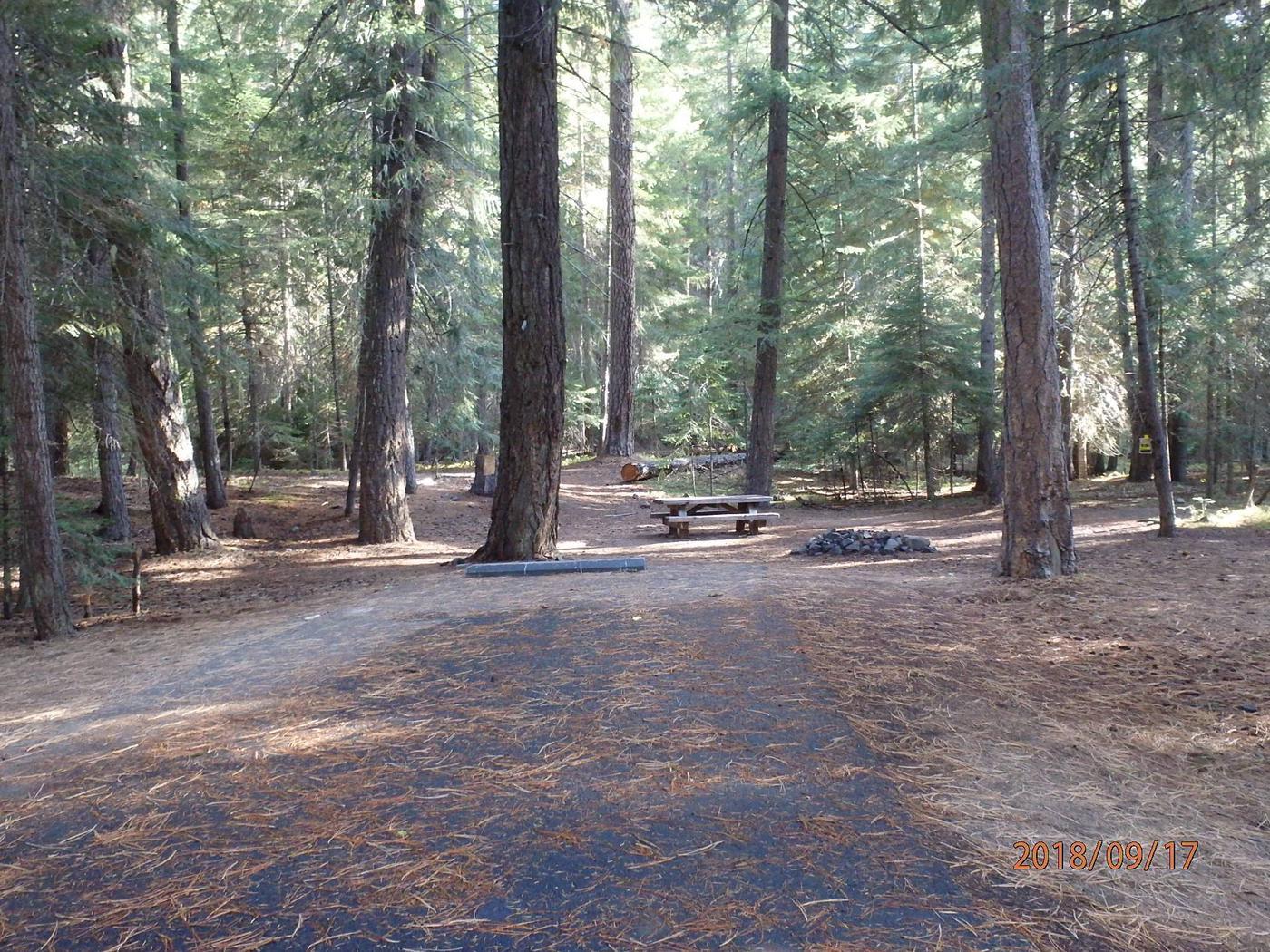 Kaner FlatNice site with paved parking spur