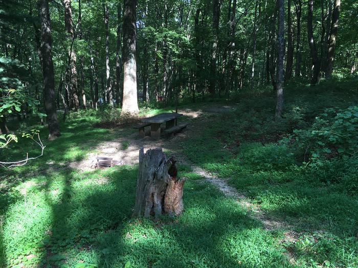 B Loop Site 6 - Tent Nonelectric
