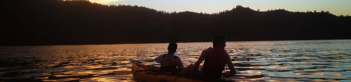 Whiskeytown Moonlight Kayak