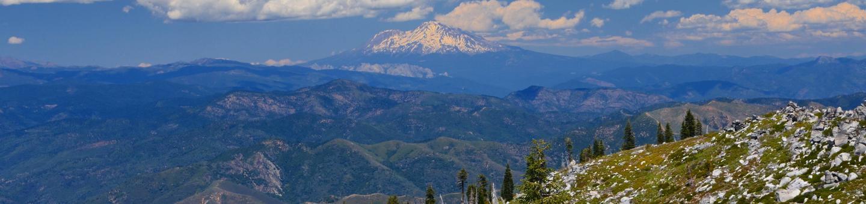 Whiskeytown Mt. Shasta from Shasta Bally