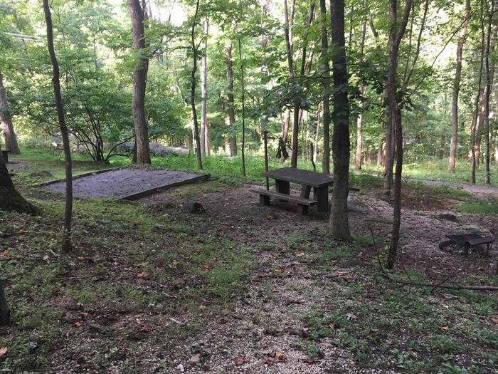 B Loop Site 18 - Tent Nonelectric