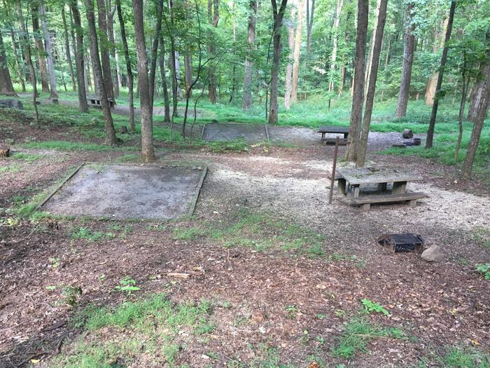 B Loop Site 22 - Tent Nonelectric