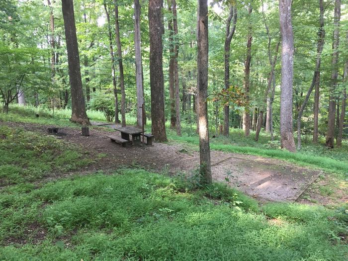B Loop Site 26 - Tent Nonelectric