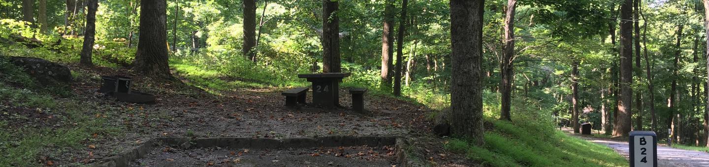 B Loop Site 24 - Tent Nonelectric