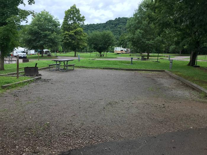 Site 17- Outflow CampgroundSite 17