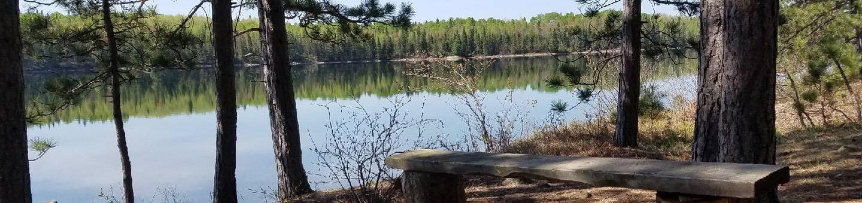 B5 - Cruiser LakeB5 - Cruiser Lake backcountry campsite