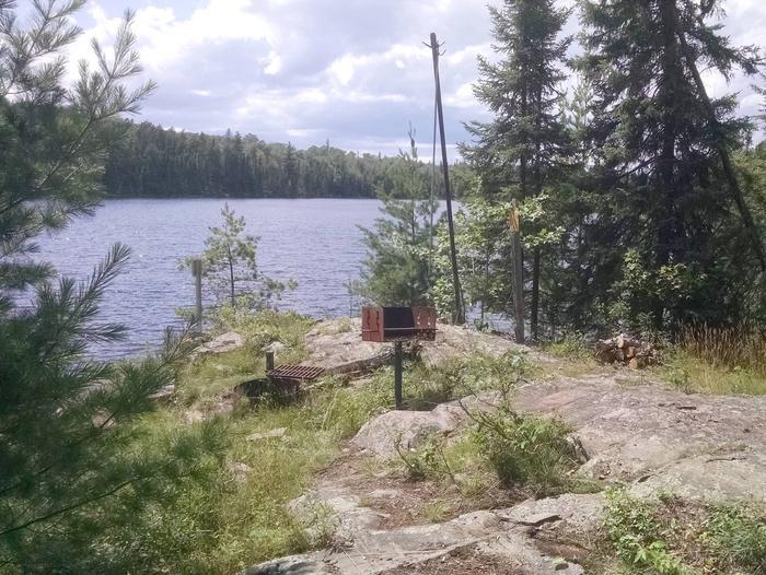 B8 - Little Shoepack backcountry campsite