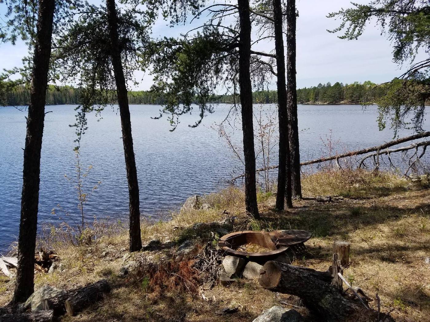 B12 - Olso Lake backcountry campsite