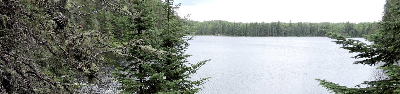 B14 - Quarter Line Lake backcountry campsite