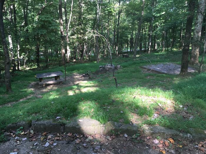B Loop Site 33 - Tent Nonelectric
